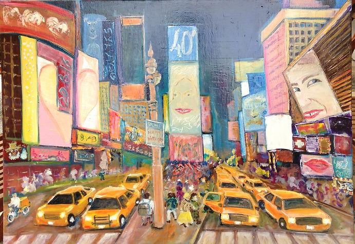 USA, New York, Time square