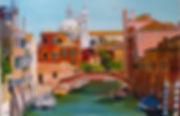 venise, italie, dorsoduro, garnd canal, gondole