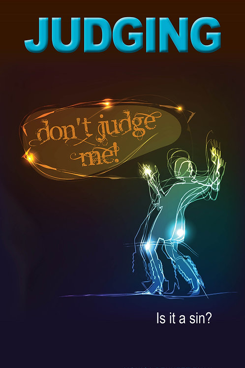 JUDGING Is it a sin?