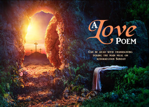 A Love Poem at Easter