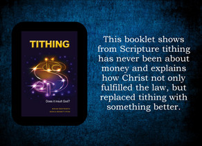 TITHING is about forgiveness - not money!