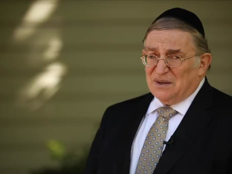 Rabbi Paysach Krohn endorses convalescent COVID-19 plasma