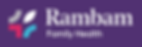 Rambam Logo_White on Purple .png
