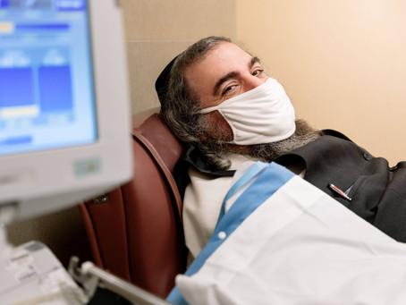 Chaim Lebovits, convalescent plasma advocate, travels to Rochester to donate plasma