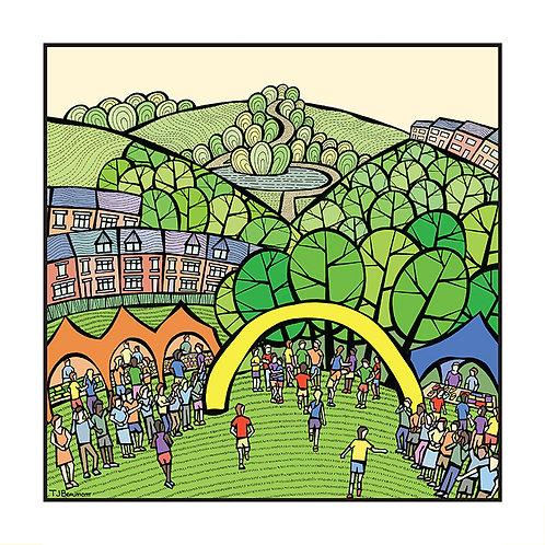 Round Sheffield Run - Endcliffe Park