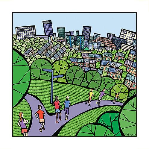 Round Sheffield Run - Meersbrook Park
