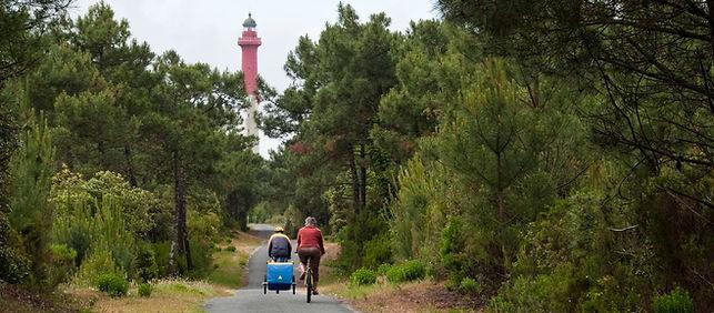 Balade à vélo Forêt de La Coubre