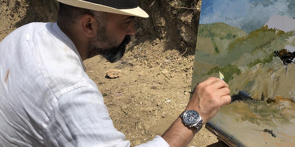 Landscape Painting Workshop - Abeer El Khateb