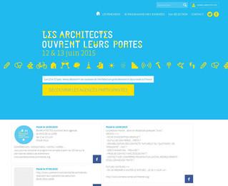 """""""Les architectes ouvrent leurs portes"""" site officiel ouvert"""