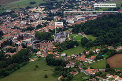 Vue aérienne_La Rochefoucauld