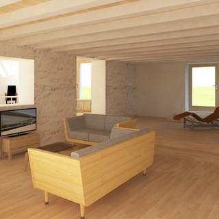 Rénovation d'une maison charentaise - Chenommet (16)