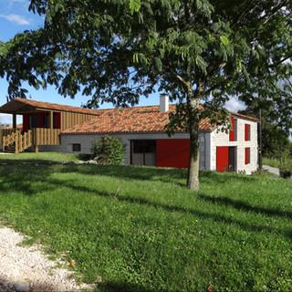 Habitation et club House au centre équestre Equi'Libre