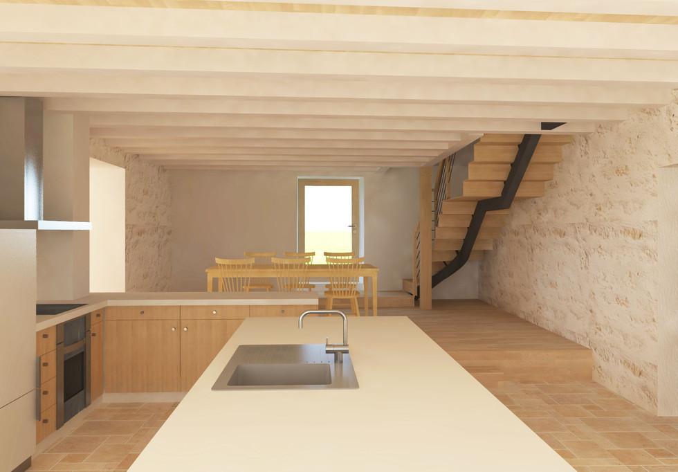 cuisine - maison centrale