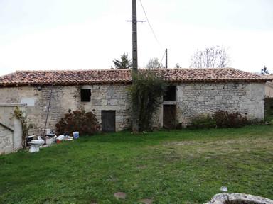 Maison du métayer - façade ouest
