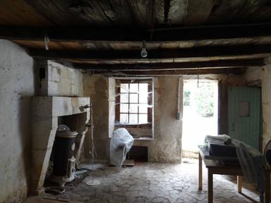 Maison du métayer - intérieur