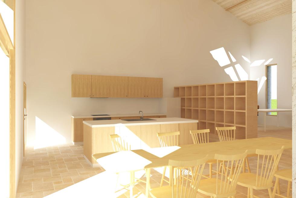 salle à manger - grange