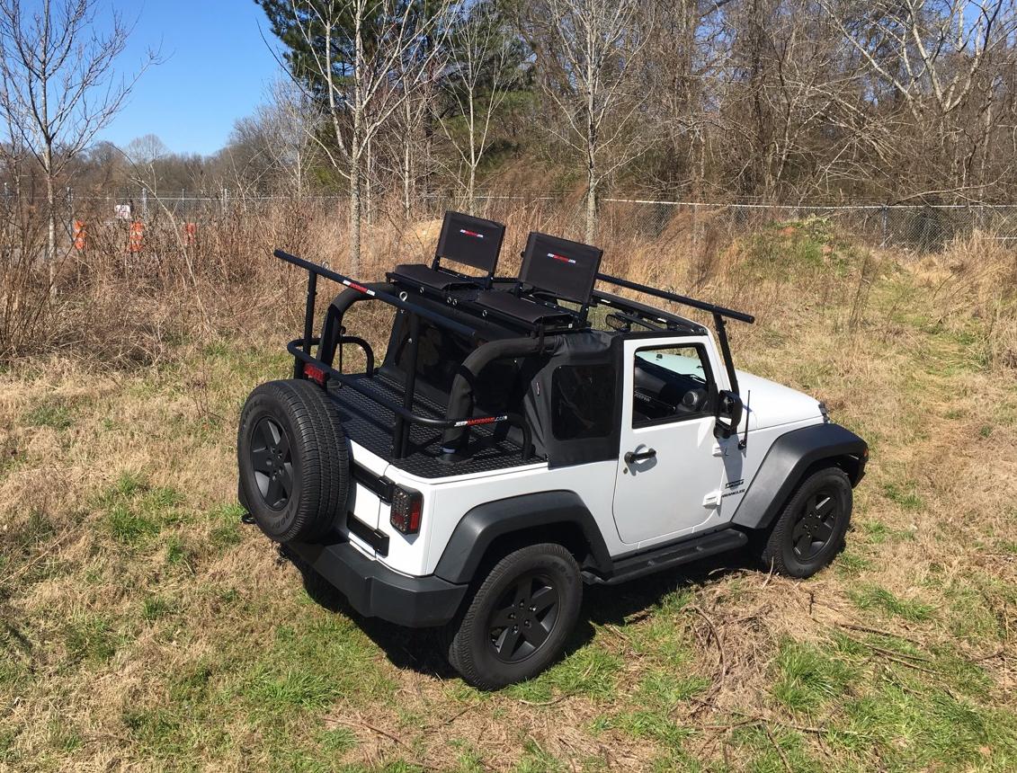 Sit On Top Of 4 Door Jk Hard Top Jeep Wrangler Forum
