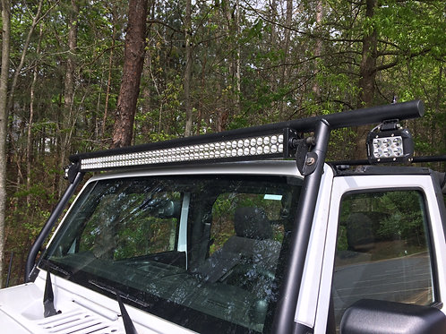 Front 3 LED Light Bar Mount PLUS Adventure Rack