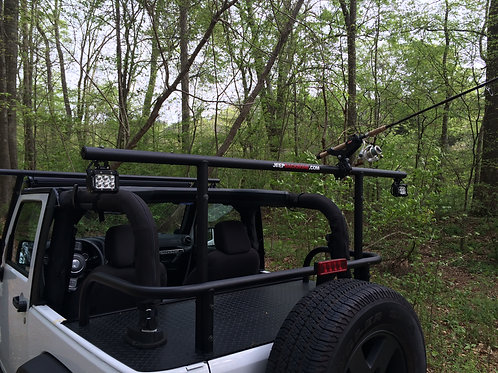 Rear LED Light/Rod/Gun Mount PLUS Adventure Rack