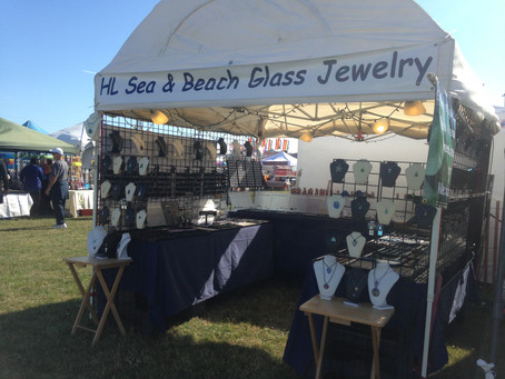 A little about HL Sea & Beach Glass Jewelry.