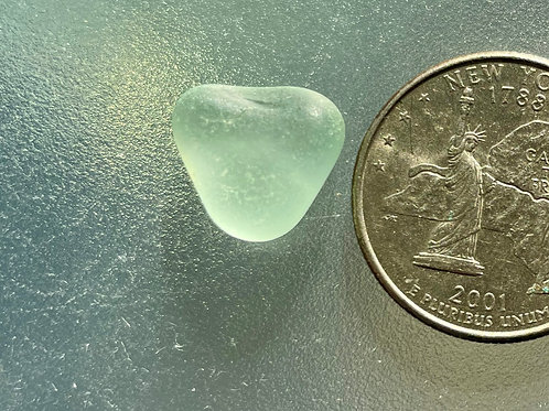 Genuine Seafoam Heart Shaped Sea Glass #23