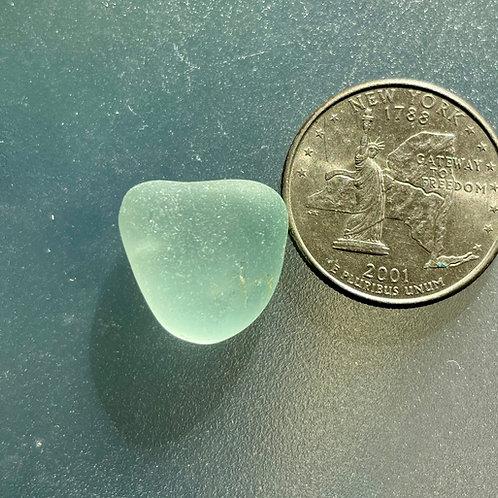 Genuine Seafoam Heart Shaped Sea Glass #50