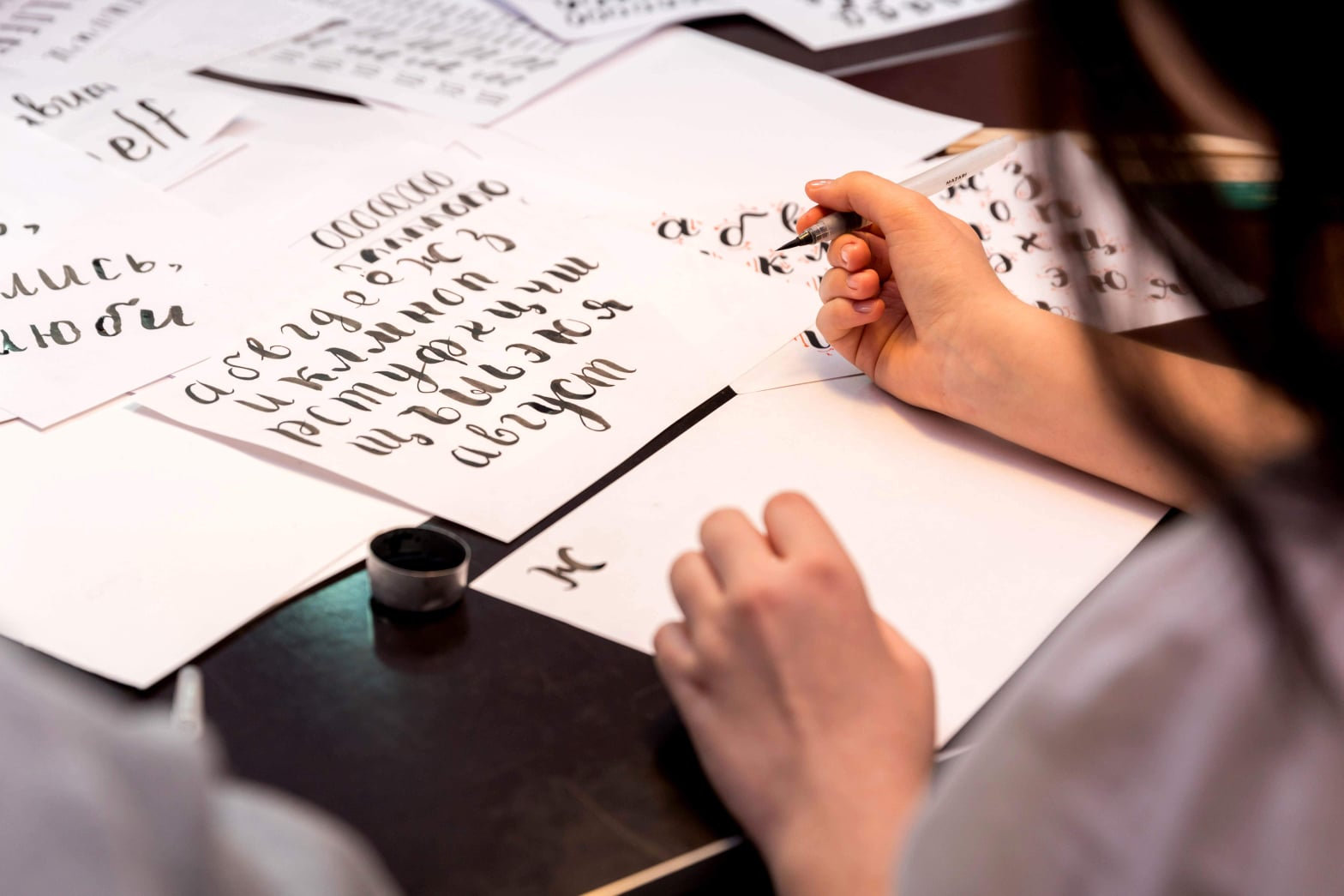 Beginner's Faux Calligraphy