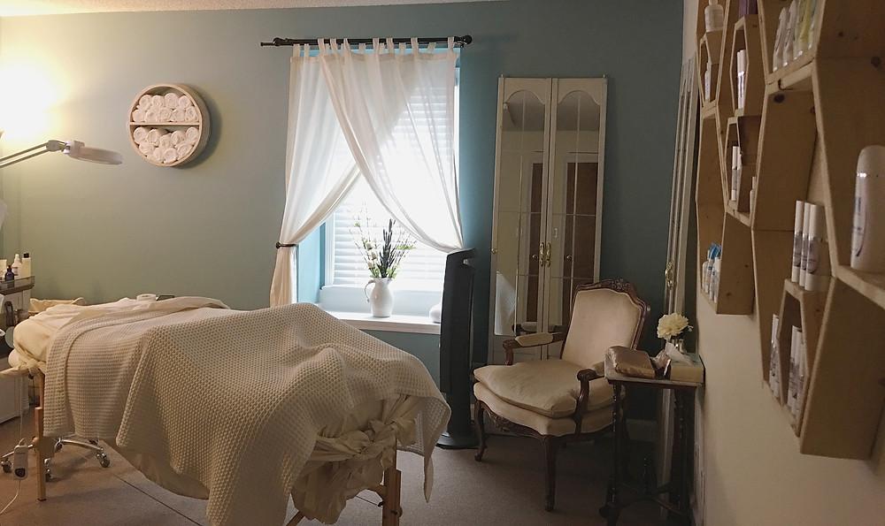 Emily Anne Esthetics - tranquil spa room