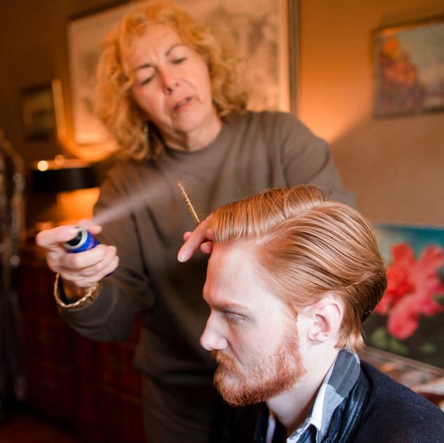 Brigitte, hair stylist