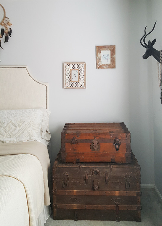 http://thehoneycombhome.com/vintage-steamer-trunk-nightstand/