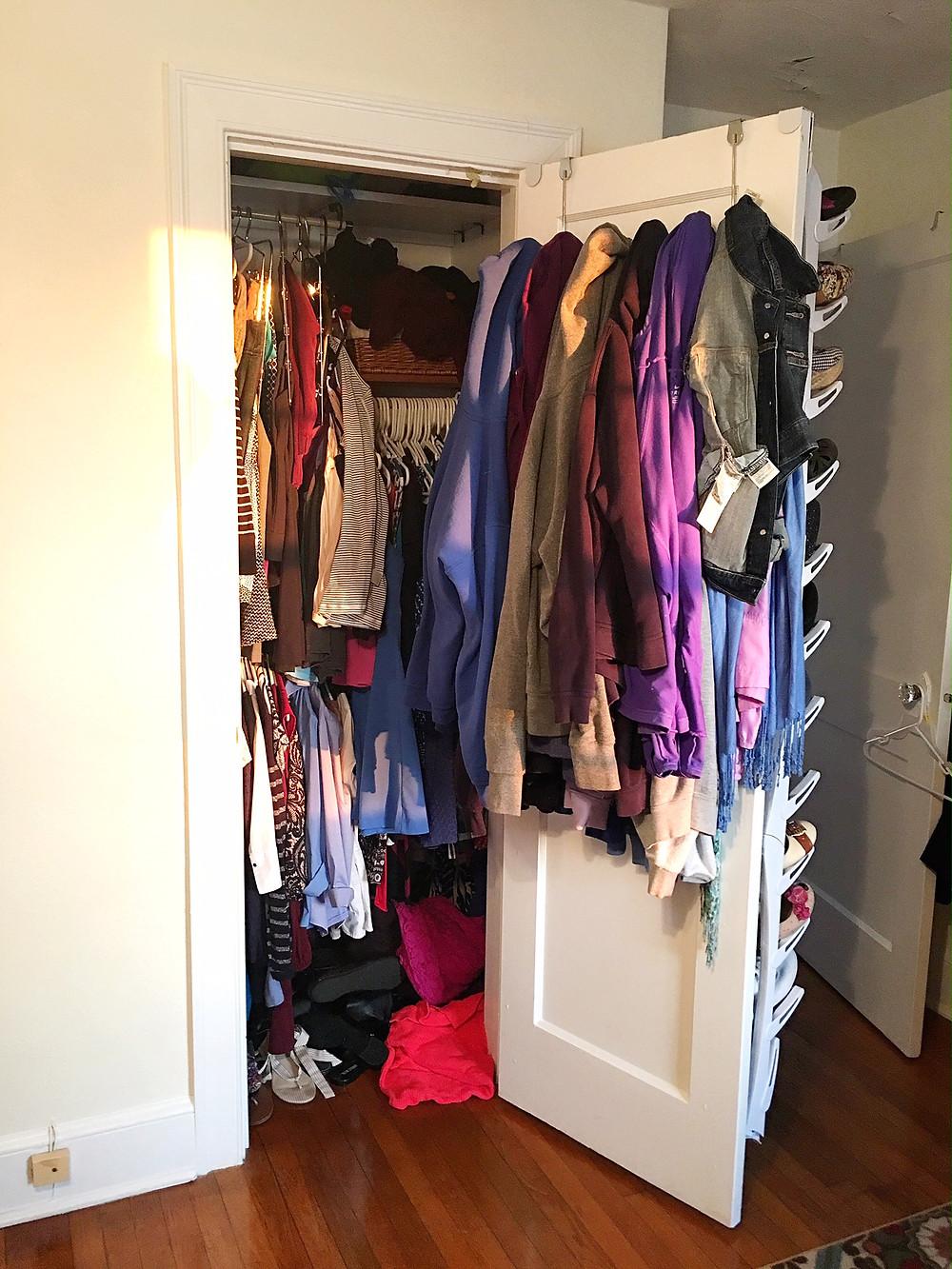 Closet Before Purging