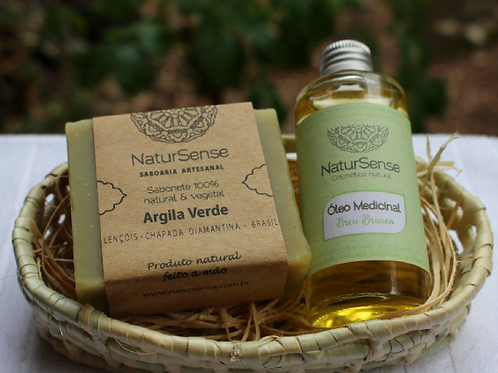 Kit Presente Sabonete + Óleo Medicinal