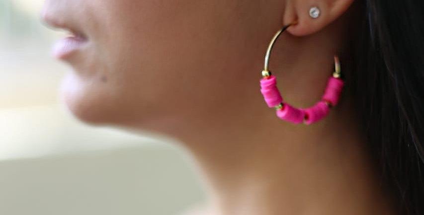 Argola Pink