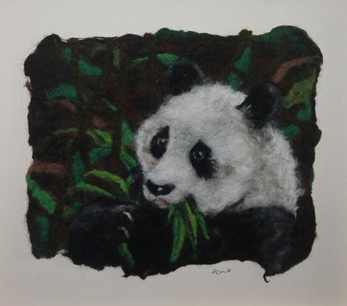 Bamboo Bear in Wool