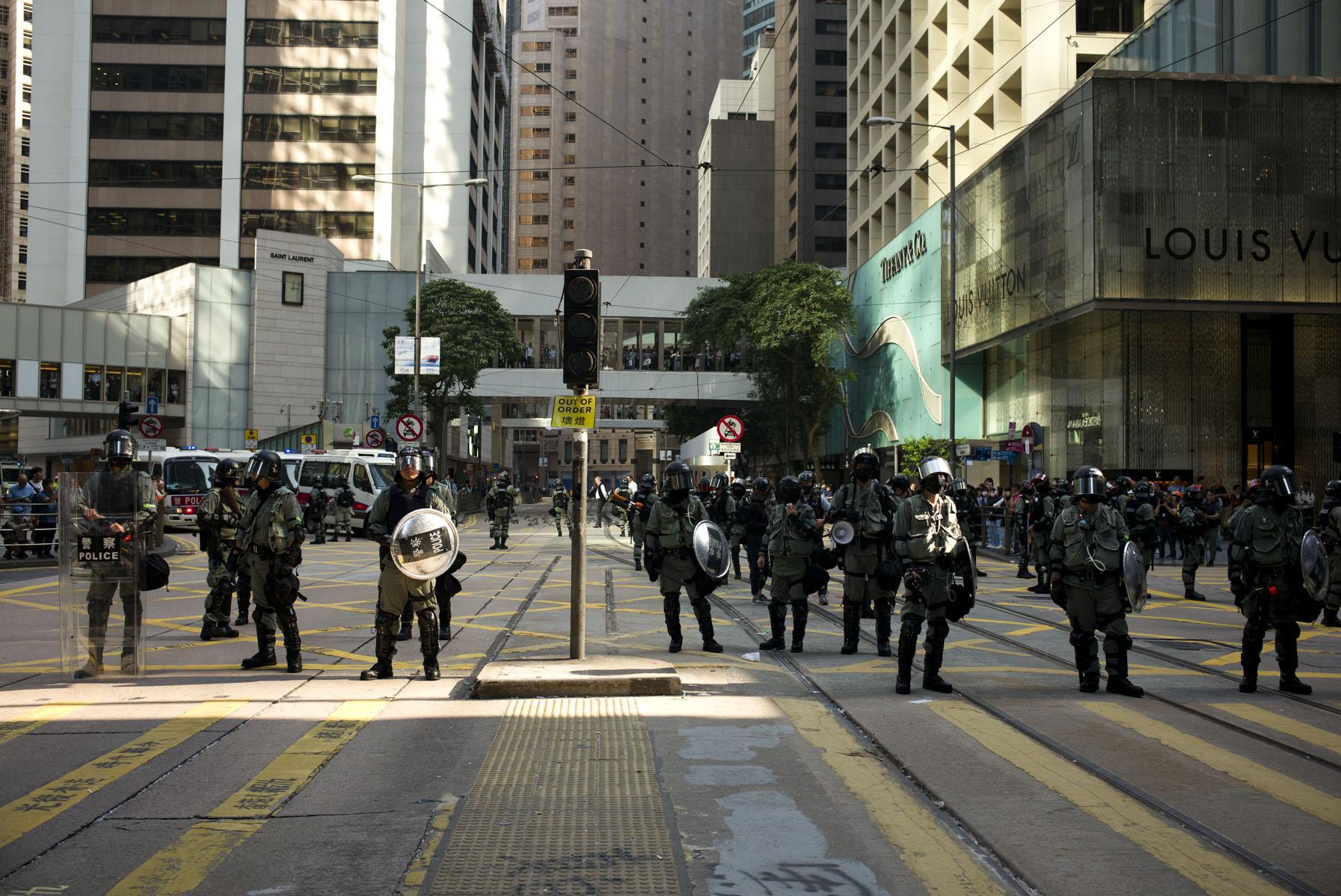 Hong Kong riot 2019