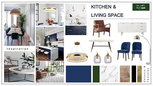 Online Sketch Design - Kitchen Living Sp