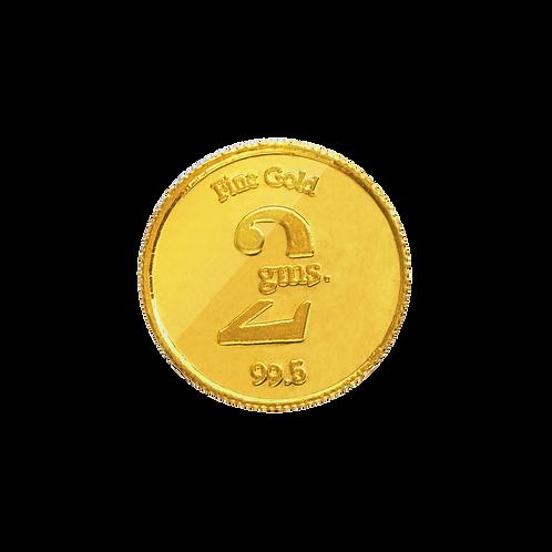 2 Gms. 24K Gold Coin