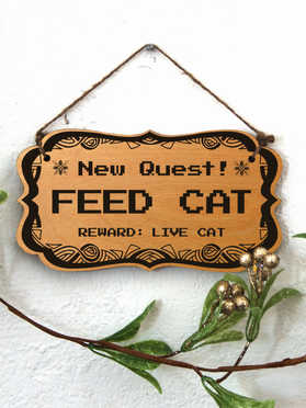 New Quest: Feed Cat