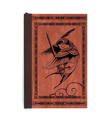 Step 3: Customize 4x6 Swallow Knight Magnetic Journal