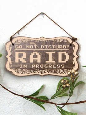 Raid In Progress