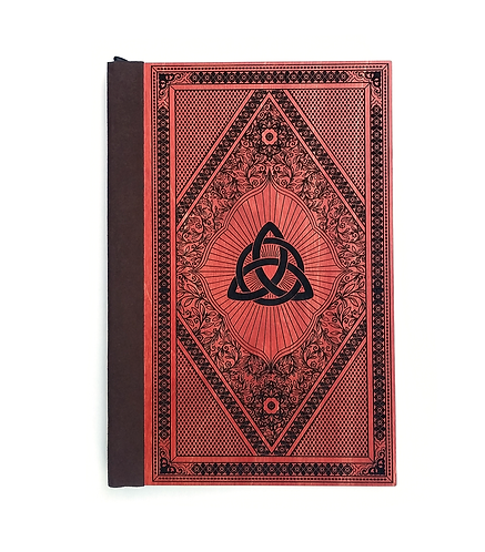 Step 3: Customize 6x9 Triquetra Spellbook Magnetic Journal