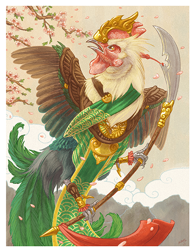 Year of the Rooster Print