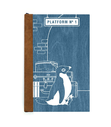 Step 3: Customize 6x9 Traveling Penguin Magnetic Journal