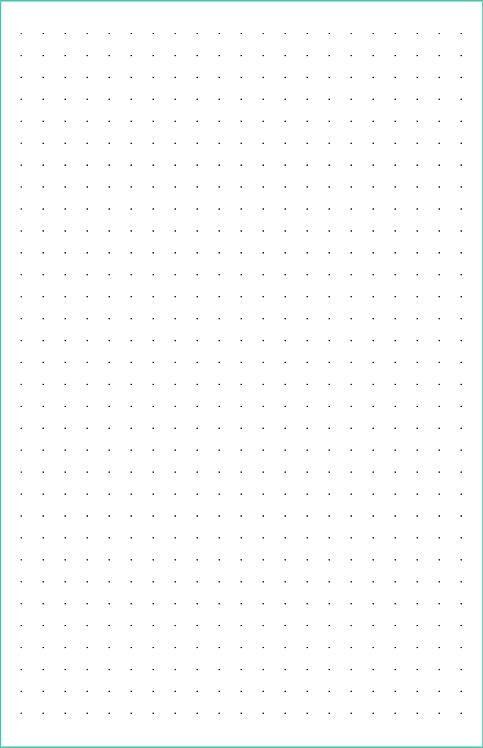 Dot Grid Magnetic Journal Refill