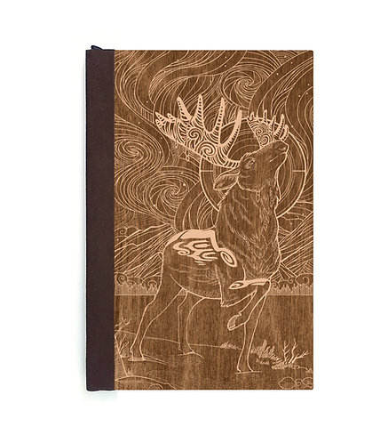 Step 3: Customize 4x6 Aurora Moose Magnetic Journal