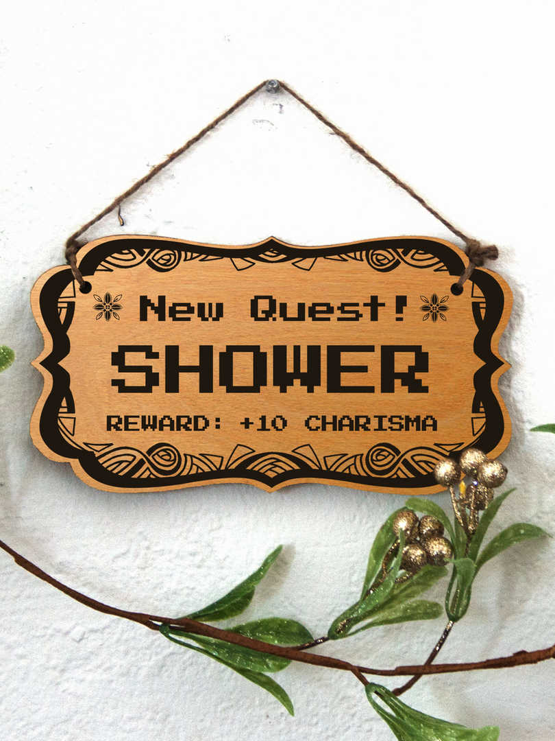 New Quest: Shower