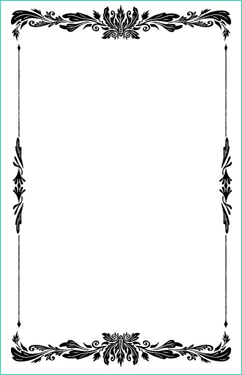 Leaf Border Blank Refill 6x9