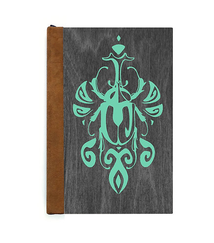 Step 3: Customize 6x9 Scarabesque Beetle Magnetic Journal