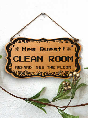 New Quest: Clean Room
