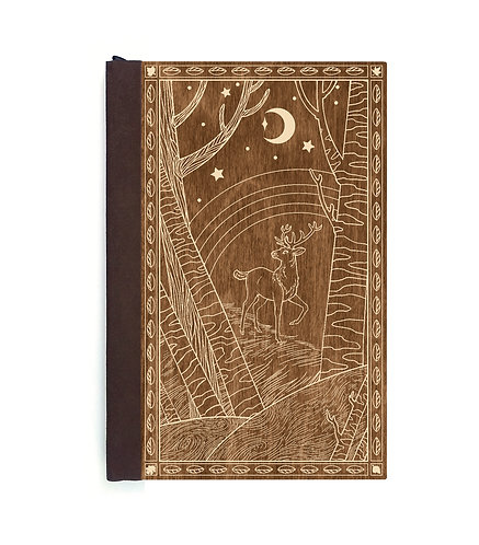 Step 3: Customize 4x6 Forest Prince Magnetic Journal